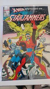 X-Men Spotlight On Starjammers Book 1 of 2 1990 Marvel Comics