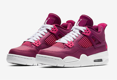 Mayo cáncer Abuelos visitantes  Nike Air Jordan 4 Retro (GS) Youth Women's UK 4 EU 36.5 487724-661 | eBay