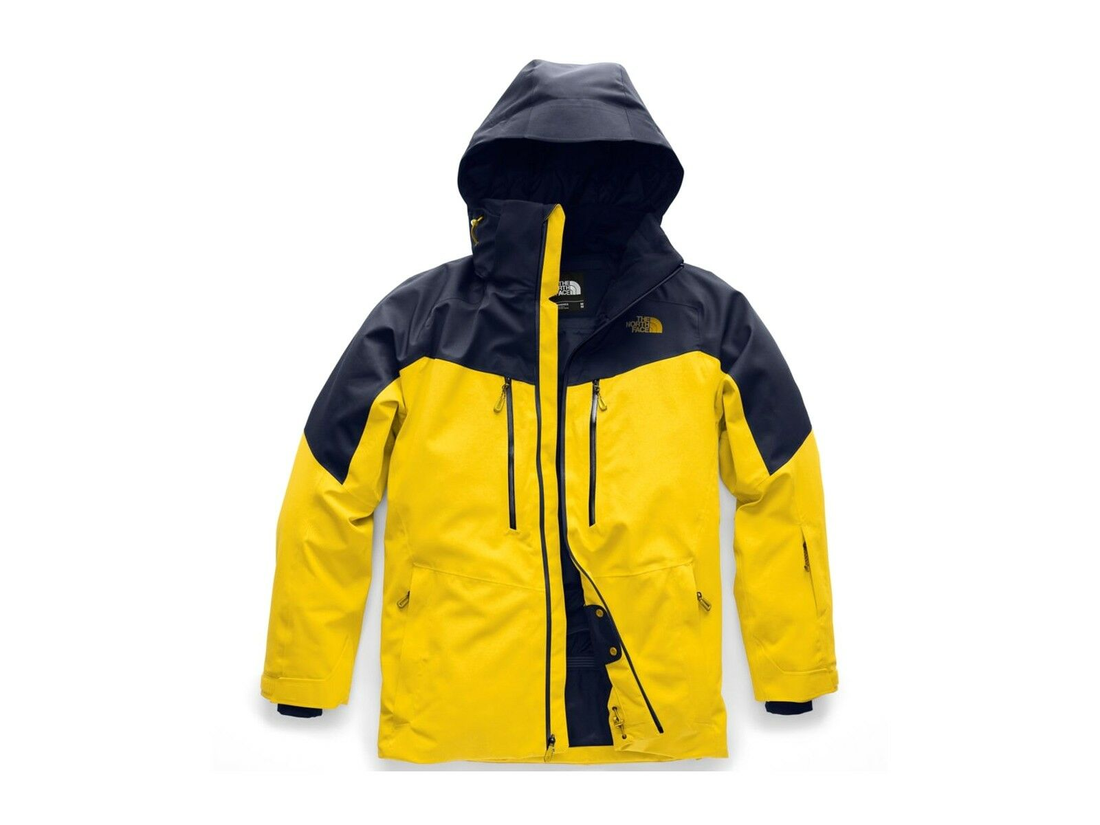 GIACCA SCI men THE NORTH FACE INVERNO 3IFZ6UR  CHAKAL YELLOW UR NAVY