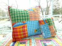 One The Company Store Quilted Fish Lodge Patchwork Small Pillow Sham (3 Availabl