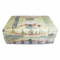 Cascades B340 Standard Bathroom Tissue, 2-Ply 4 x 3 1 2, White, Case of 48 Rolls