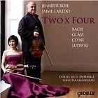 Two x Four: Bach, Glass, Clyne, Ludwig (2014)