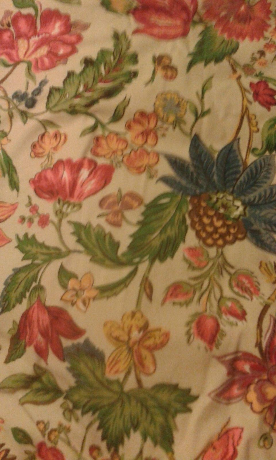 Laura Ashley grandes Cortinas calidad país Mariposa Floral Tradicional Forrado