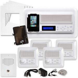 Image Is Loading Ist Retro Music Amp Intercom System Kit White