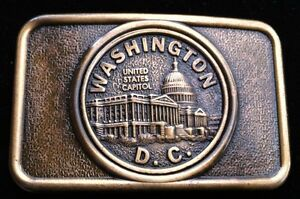 Washington-State-D-C-White-House-Capitol-Hill-Belt-Buckles-Buckles