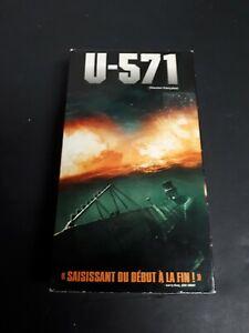 U-571-2000-VHS-French-Version-War-Military-Thriller