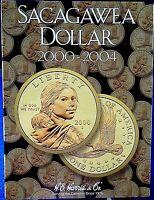He Harris Sacagawea Dollar 2000-2004 Coin Folder, Album, Book 2715
