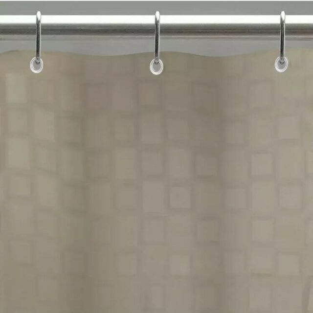 Excell Bowery Tan Fabric Shower Curtain Liner Tan For Sale Online