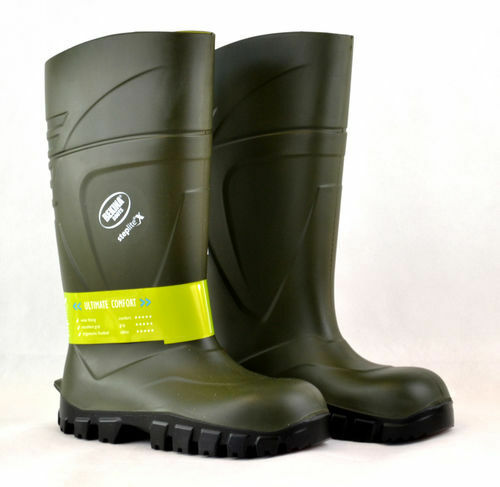 Bekina Steplite X Green Wellington Boots