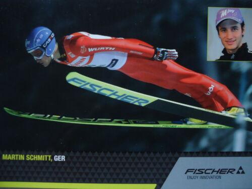 Sport Martin Schmitt Skispringen Autogrammkarte