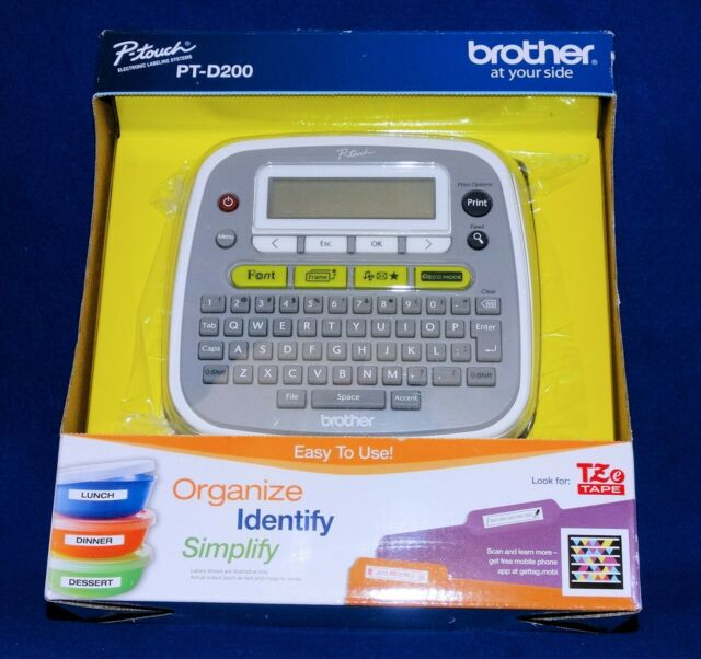 NEW BROTHER P-TOUCH PT-D200 LABEL MAKER WRITER