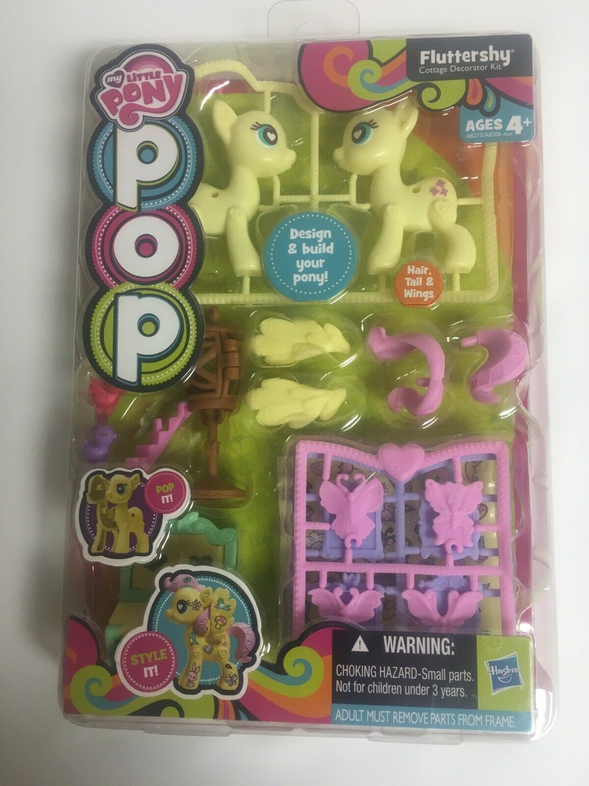 Hasbro My Little Pony POP Fluttershy Cottage Decorator Kit
