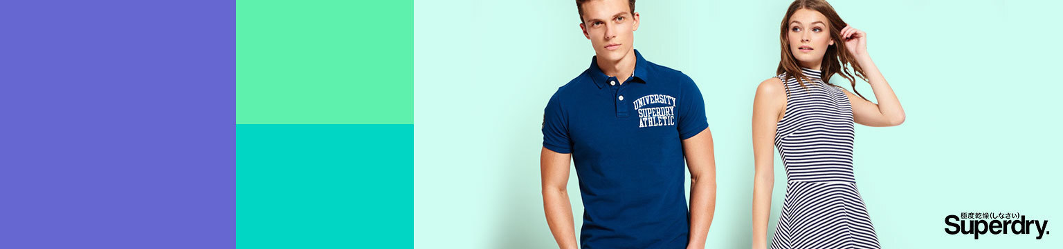Up to 60% off Superdry Holiday Shop