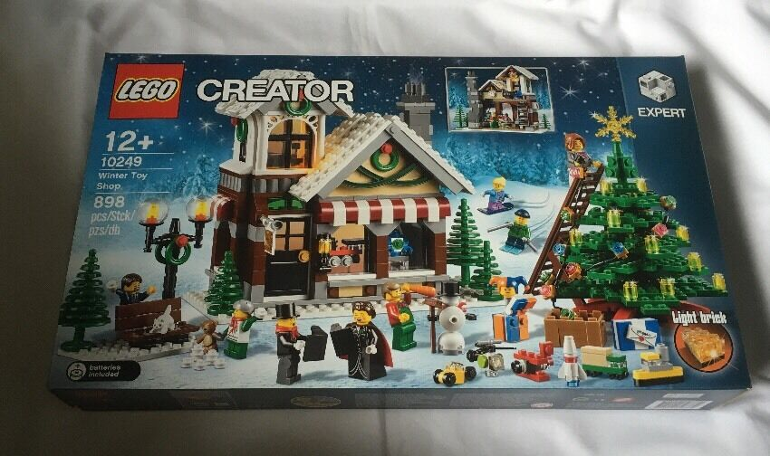 Lego Skapare Winter leksak Shop Set 10249 Från 2015  Brand New