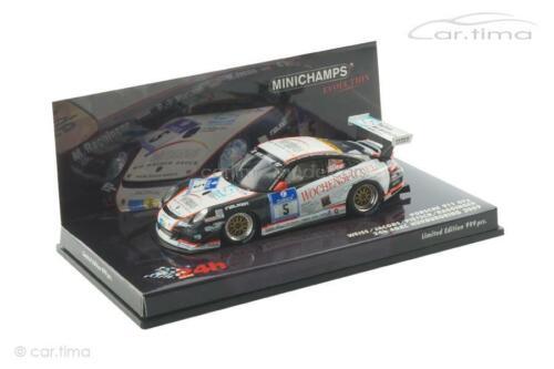 997 Porsche 911 Wochenspiegel 24h NBR 2009- Minichamps 1:43-437096705 GT3