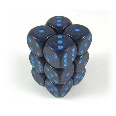 Chessex Speckled dice set Recon set of 12 standard dice set 16mm