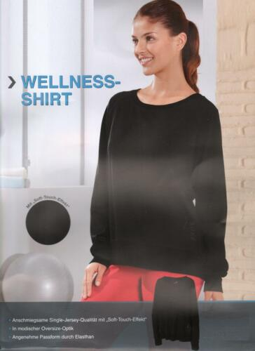 Damen Wellness Shirt Pullover Top Sport Yoga Shirt Oberteil  S M L 36-46 *A064
