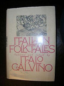 Italian-Folktales-By-Italio-Calvino-1980-B-amp-W-Illustrations-Terrific-Condition