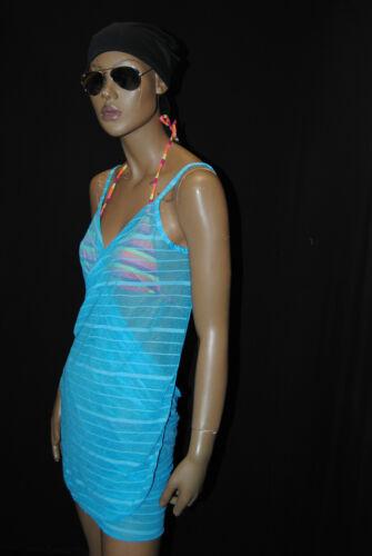 2 abito Distorta spiaggia pareo copricostume acquaverde vestiti mare WP6001//5