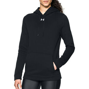 New With Tags Womens Under Armour Fleece UA Rival Hoodie Hoody Sweatshirt Top