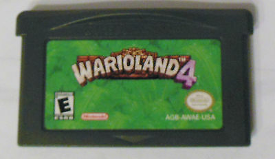 Nintendo Game Boy Advance Warioland 4 Game - Tested