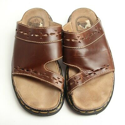 Doc Dr Martens Brown Leather Sandals Shoes Made in England Mens Size 9 US* | eBay