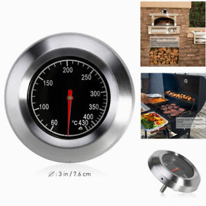 Barbecue-BBQ-Smoker-Grill-Thermometer-Temperaturanzeige-60-430-Fuer-Picknic-0U