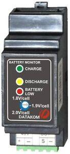 DATAKOM-DKG-182-Battery-voltage-monitor-controller-24V