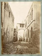 Palestine, Jérusalem, Arc de l'Ecce Homo  Vintage albumen print,  Tir