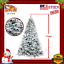 2019-Artificial-Christmas-Tree-Xmas-Holiday-Snow-Coated-Green-White-7-Foot-FT thumbnail 1