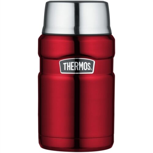 Thermos stainless king en acier inoxydable isolation sous vide food flask 0.71L