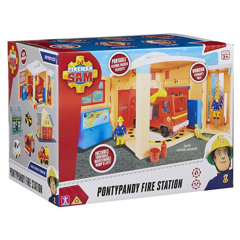 Fireman Sam Pontypandy Fire Station Station Station Playset NEW b5cbcc