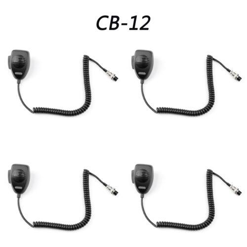 For COBRA Cobra Walkie Talkie CB-12 Car Hand Microphone Aviation Head 4Pin