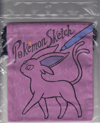 M Pokemon Dice Bag Pokemon Sketch Espeon 21.0 x 18.5 cm Pokemon Center
