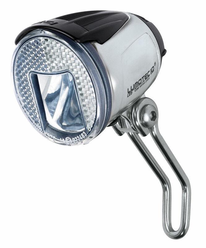 Fahrradscheinwerfer BUSCH MÜLLER LED Lumotec IQ Cyo Alu-Look 60 Lux