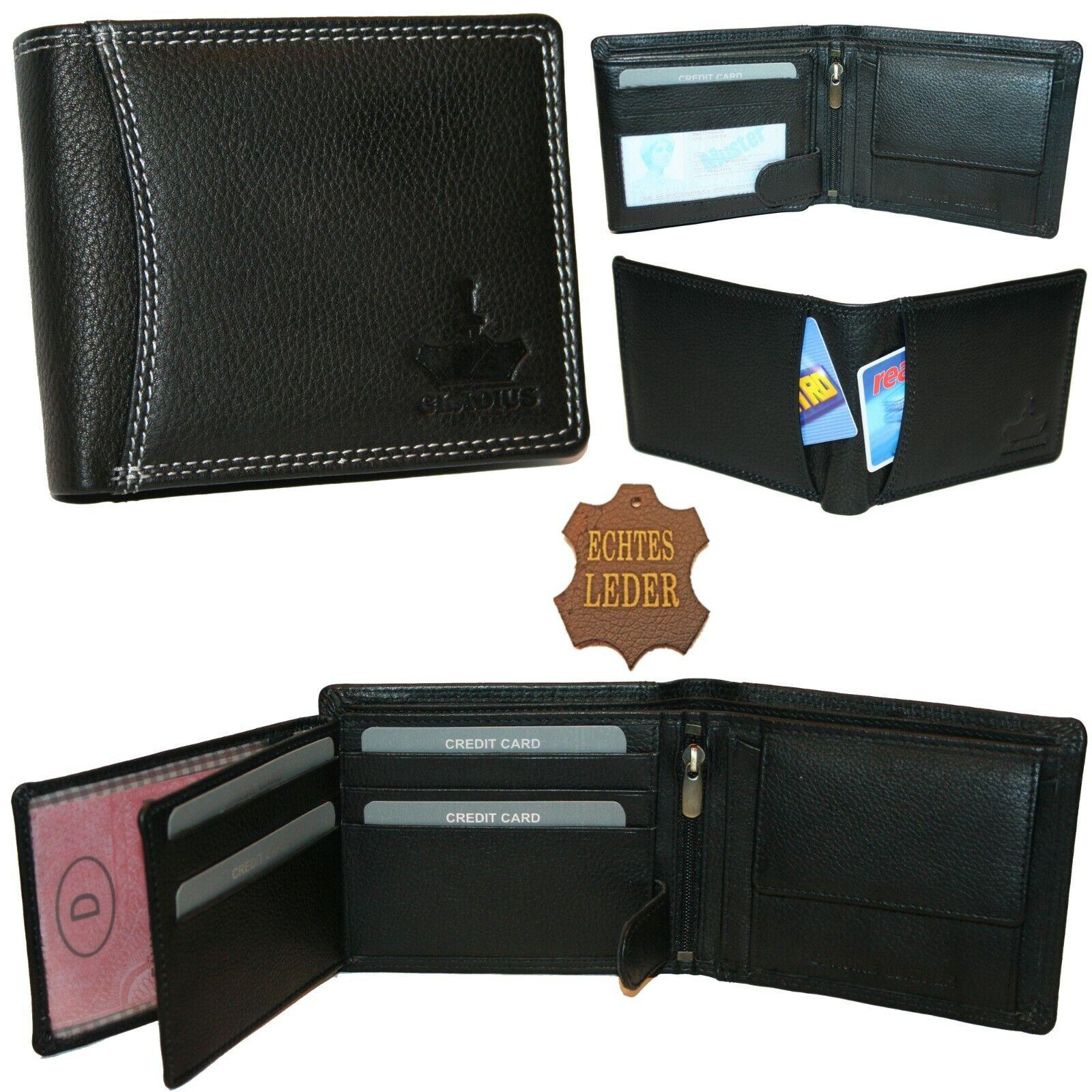 Gladius Wallet Leather Mens Men Wallet Wallet Black New