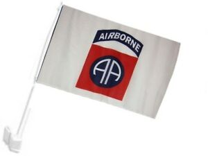 "Army Airborne White Sleeve Flag Boat Car Garden 12x18 12/""x18/"" U.S"