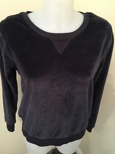 Nice Primark Love To Lounge Charcoal Velour Tracksuit Top Size Xs New With Tags Tracksuits & Sets Women's Clothing