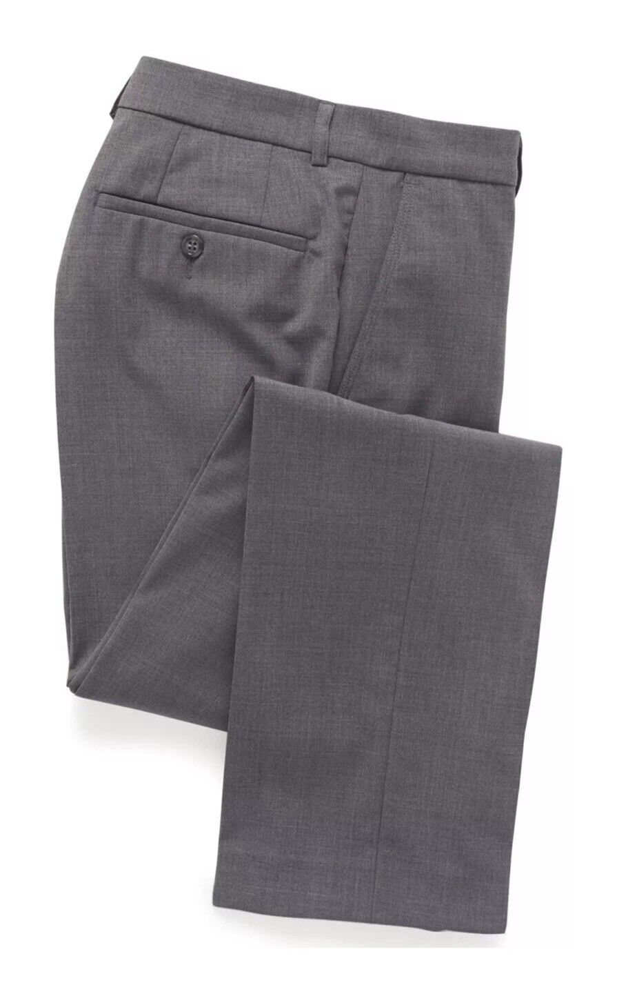 Brook Taverner Avalino Formal Trousers  Light Grey  Size  R   36R Available