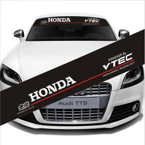 Car-Reflective-Front-Windshield-Banner-Decal-Window-Vinyl-Sticker-for-Honda-VTEC