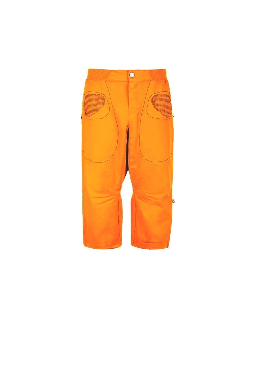 E9 Pantalón R3 3 4-lange Pantalones para Escalar para Hombre Naranja