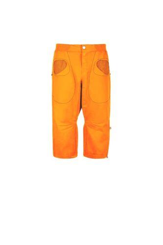 Bergsteigen & Klettern E9 Hose R3  3/4-lange Kletterhose für Herren orange Bekleidung