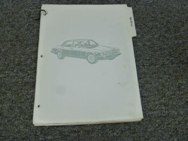 1979 1980 1981 1982 Jaguar Xj6 Iii Sedan Electrical Wiring