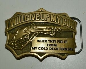 COLD DEAD FINGERS BELT BUCKLE NEW