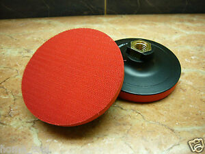 1-pc-4-034-inch-100mm-M14-thread-arbor-polishing-pad-holder-hook-loop-backed-backer