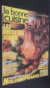 Revista-Mensual-Dibujada-La-Buena-Cuisine-N-88-Junio-Julio-89-Buen-Estado