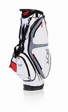 JuCad Bag Fly - Farbe: weiß-rot - 2 in 1 - tragen und fahren, Neuheit!