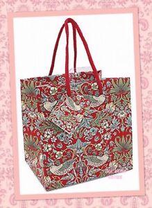 William-Morris-034-Strawberry-Thief-034-Gift-Bag-Small-15-5-X-15-5cm
