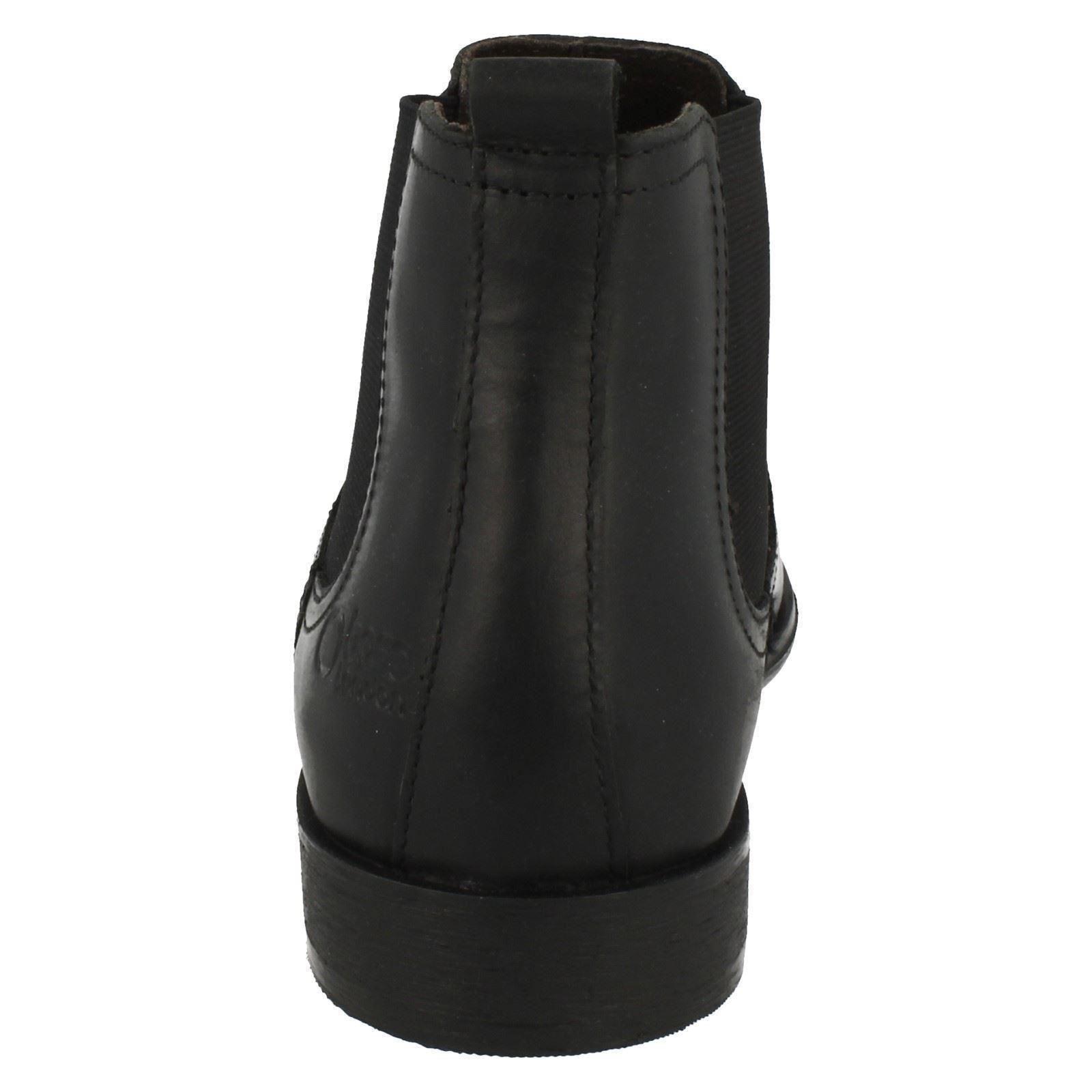 HERREN schwarz/Fettleder Safran Base London Wachsartig schwarz/Fettleder HERREN Braun Leder Stiefel 924ea6