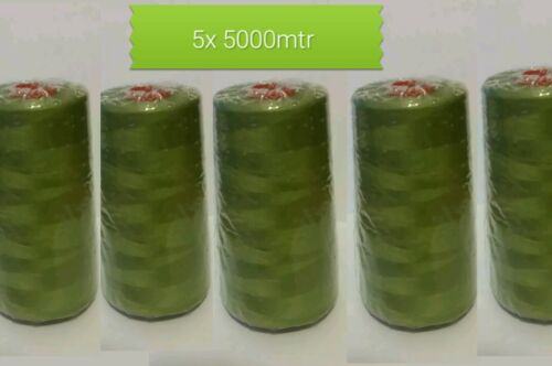 Spun polyester sewing thread Coats Astra fern green shade 54 4427 5000m 120